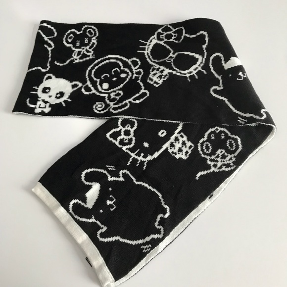 2701ee26d Forever 21 Accessories - Hello Kitty Friends Sanrio Black White Scarf Wrap